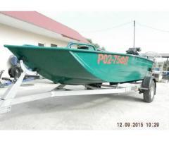 Лодка болотоход
