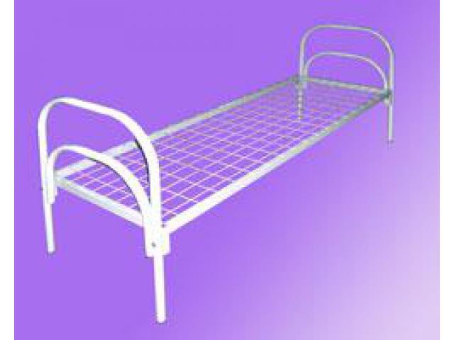 Эконом кровати, Полуторные кровати оптом, Кровати из железа