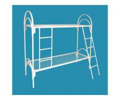 Двухъярусные металлические кровати для бытовок, кровати для общежитий